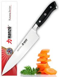 katana kitchen knives review hanzo japanese steel chef knife 8 inch damascus vg10 67
