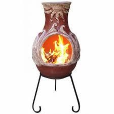 Extra Large Clay Chiminea Wood Burning Fireplace Small Fireplace Ideas Clay Chiminea