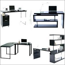 bureau design noir laqué bureau design blanc laquac bureau design noir laque bureau design
