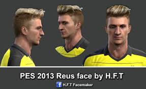pes 2013 hairstyle update pes 2013 reus face new hairstyle by h f t update pes