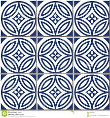 Moroccan Pattern Art Moroccan Wall by Vintage Seamless Wall Tiles Of Blue Round Cross Flower Moroccan