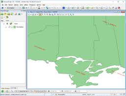 Esri Shapefile World Map by Export Dgn File Elements And Bentley Map Xfm Data To Shapefile