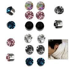 boys earrings magnetic magnet earrings stud boys girl clip on earrings non