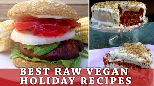 raw thanksgiving recipes the best raw vegan holiday recipes ever youtube