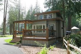Tumbleweed Whidbey Wildwood Lakefront Tiny Cottage Community