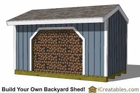 Plans To Build A Wooden Storage Shed by Firewood Shed Plans Diy Wood Bins Easy To Build Wood Shed Designs