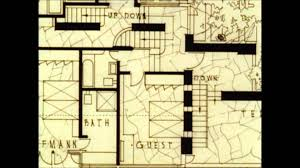 frank lloyd wright floor plan fallingwater design frank lloyd wright youtube