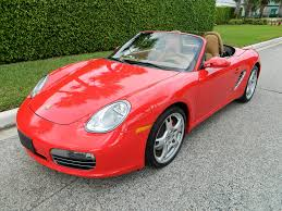 porsche boxster red porsche for sale