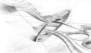 architectural sketches architectural sketch 6 by mihaio