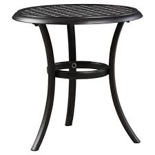 Patio Accent Table Patio Accent Table Brown Signature Design By Target