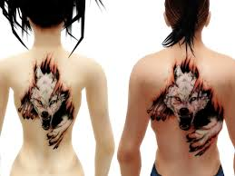 76 meaningful wolf designs ideas for back