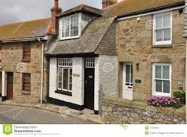english cottage house traditional english cottage st ives cornwall england uk stock
