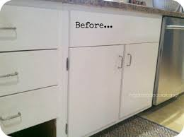 How To Install Kitchen Cabinets Diy Adding Trim To 1960s Cabinets Hometalk