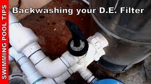 mastertemp 250 manual backwashing your pool filter youtube