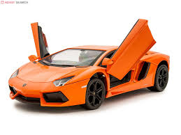 rc lamborghini aventador metal drive rc lamborghini aventador orange rc model item picture3