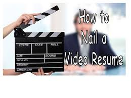 Sample Script For Video Resume by How To Nail A Video Resume With A Provided Example Youtube
