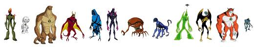 ben 10 original series alien force ultimate alien