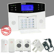 gsm burglar alarm security systems ebay