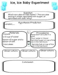 a simple introduction to the scientific method with a printable
