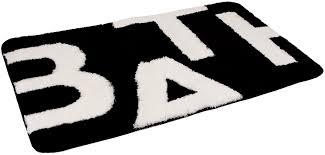 Black And White Bathroom Rugs Fabulous Black And White Bathroom Rugs Creative Home Design Bath