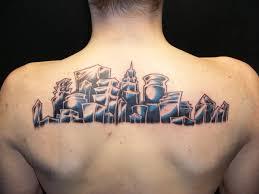 skyline tattoo final by vampiper on deviantart