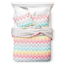 wavy chevron and striped comforters