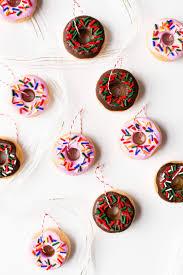 diy salt dough donut ornaments a beautiful mess