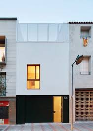 efficient home built between two dividing walls in terrassa barcelona