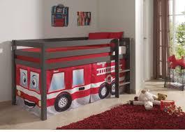 decoration chambre pompier cdiscount bois superposes enfants fille camion chambre personne but