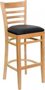 Ladder Back Bar Stool Wood Ladder Back Bar Stools Foter