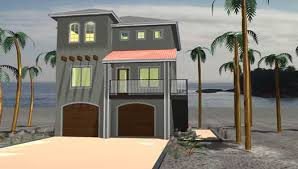 Beach Style House Plans Beach Style House Plans Plan 52 263