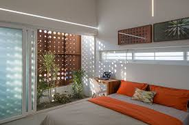 architecture indoor garden large home in kerala india decoration
