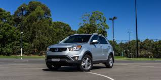 ssangyong ssangyong korando review specification price caradvice