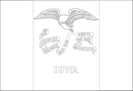 massachusetts state flag coloring pages