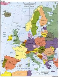 European Union Blank Map by Europe Political Map 1993