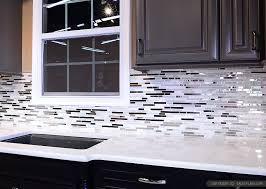 metallic kitchen backsplash 5 modern white marble glass metal kitchen backsplash tile metallic
