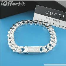 mens silver jewelry bracelet images Men 39 s 925 silver jewelry bracelet for sale jpg