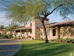Southwest Style Homes John Mccain U0027s Southwestern Style Residence In Arizona