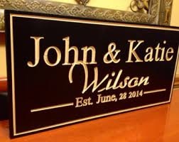 customized plaques with photo custom plaques etsy