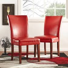 red leather dining room chairs for sale ebay brisbane and table in