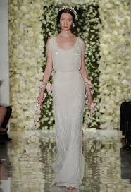blouson wedding dress reem acra featured sheer crop top wedding dresses and