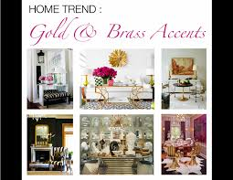 home trend gold u0026 brass accents mountain home decor