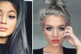 gray hair fad granny hair trend young women are dyeing their hair grey daily star
