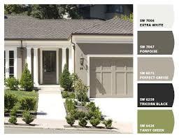 Sherwin Williams White Exterior Paint - 211 best exterior paint colors images on pinterest exterior