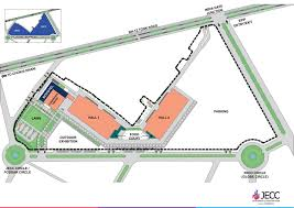 Jaipur India Map by Jaipur Exhibition And Convention Centre Venue Map Jecc