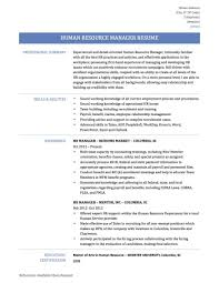 Case Manager Resume Example Recruitment Manager Resume Sample Free Example And Mid Career