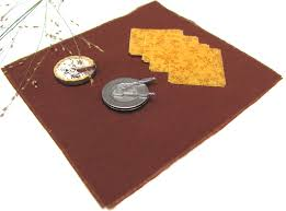 rustic fall woodland brown table cloth u0026 napkin set 1 12 scale