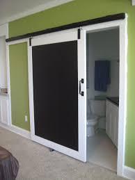 Barn Doors Pinterest by Calkboard Barn Door Dividing Rec Room And Bath Room Interior
