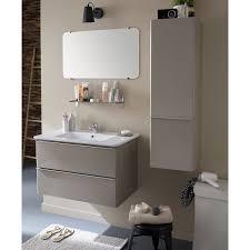 Miroir Lumineux Leroy Merlin Meuble Sous Vasque Et Miroir L 80 X H 50 X P 45 Cm Nymphe Leroy