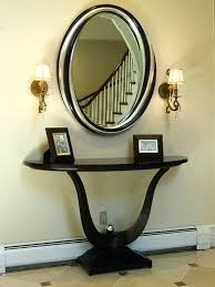 entrance table and mirror entryway table and mirror set furniture foyer console table and